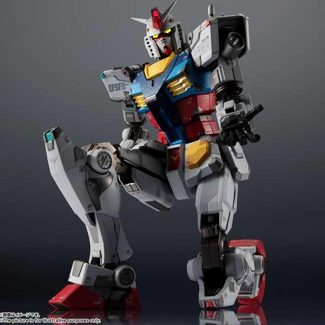 「GUNDAM FACTORY YOKOHAMA」RX-78F00 ガンダムが「超合金」ブランドで登場