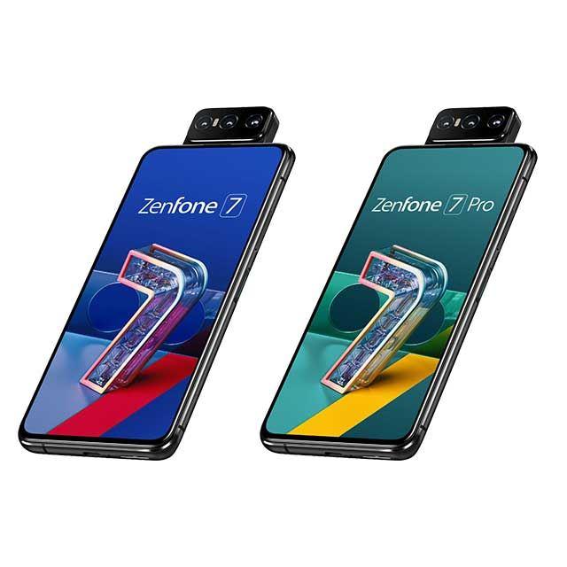 「ZenFone 7」「ZenFone 7 Pro」