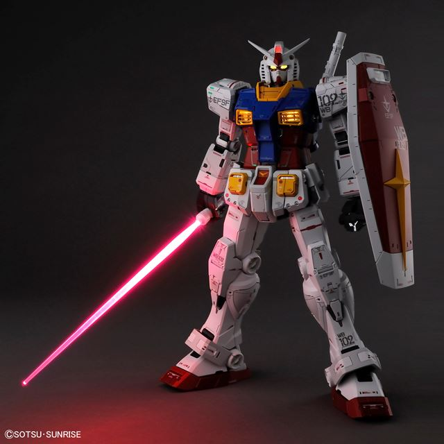 「PG UNLEASHED 1/60 RX-78-2 ガンダム」