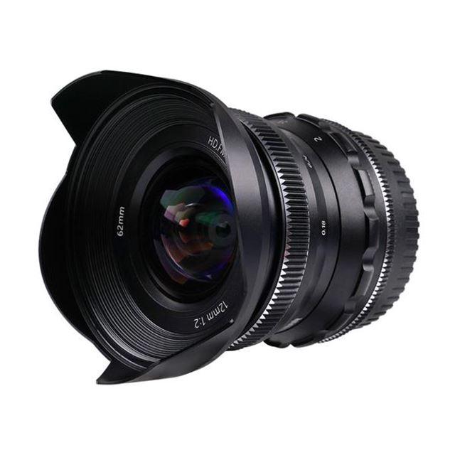 PERGEAR 12mm F2 広角マニュアルフォーカス単焦点レンズ