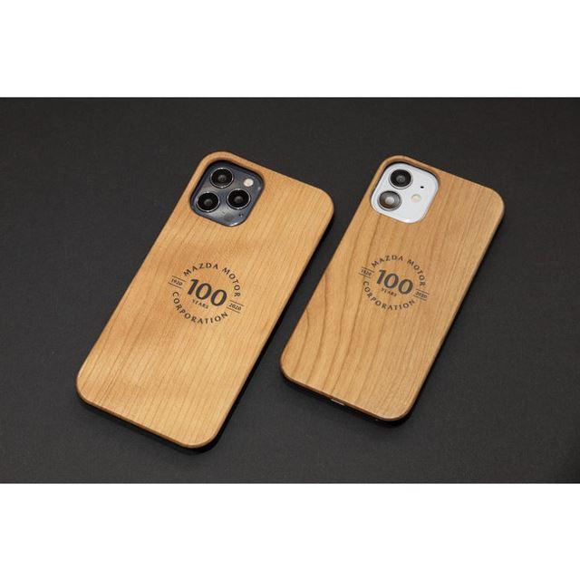 「マツダ100th Anniv. Wood iPhoneケース