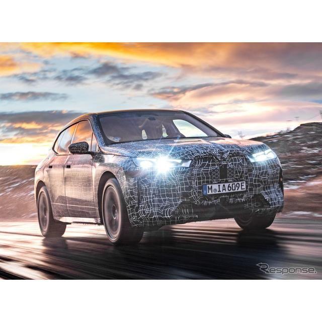 BMW iX のプロトタイプ