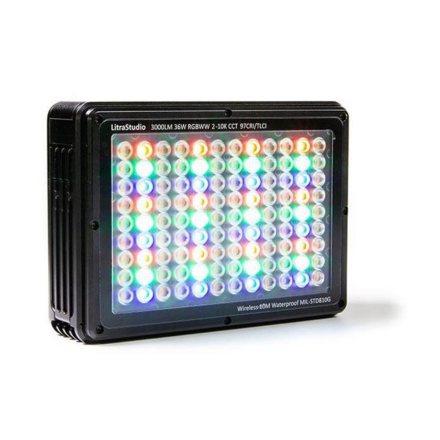 「LitraStudio ポータブルRGBWWライト」