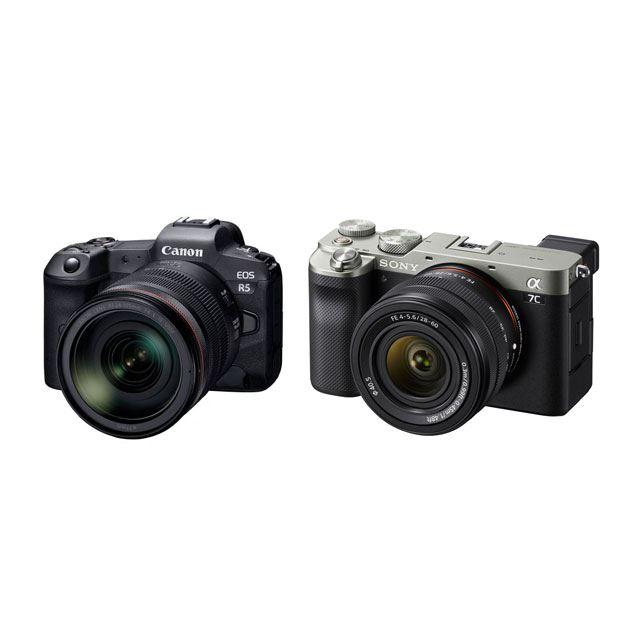 【2020カメラ】キヤノン「EOS R5」やソニー「α7C」などハイエンド機が目立つ1年に