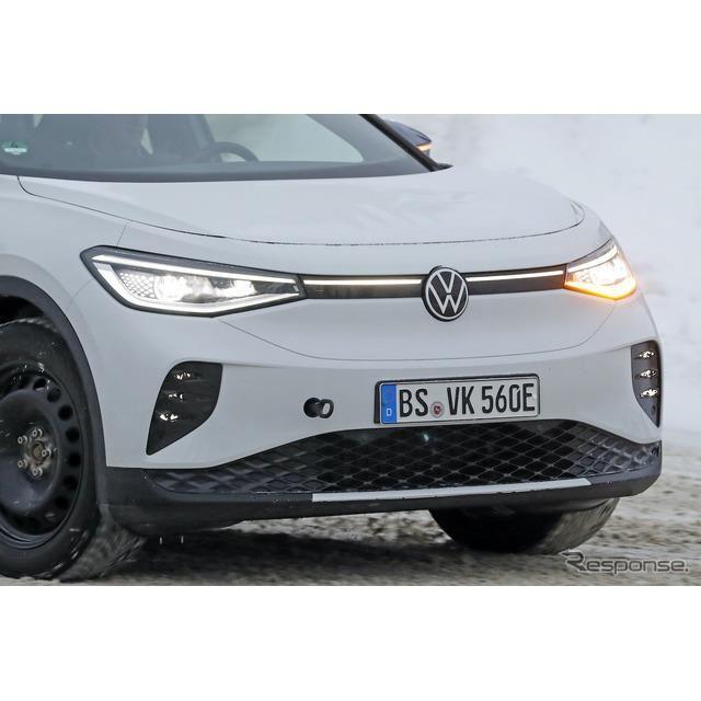 VW ID.4 GTX(仮)プロトタイプ(スクープ写真)