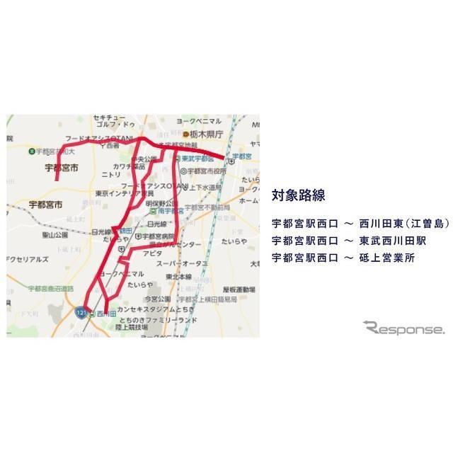 位置 東武 情報 バス