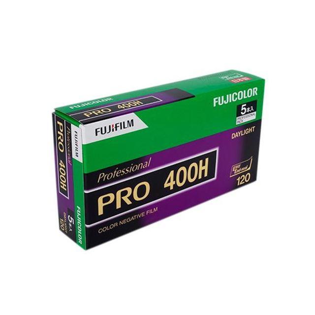フジカラー PRO400H プロフェッショナル 12枚撮 5本パック(サイズ120)