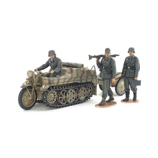 「1/35 ドイツSd.Kfz.2 ケッテンクラート中期型」