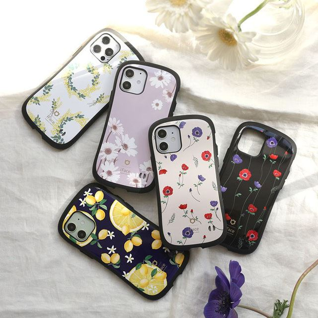 「iPhone 12 mini/12/12 Pro/11/XS/X/8/7/SE(第2世代)専用 iFace First Class Flowersケース」