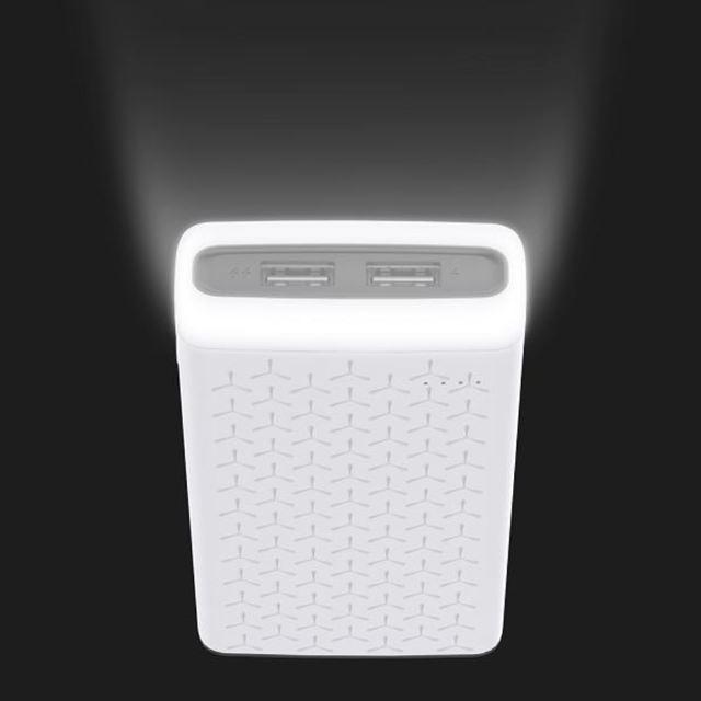 LEDライト付きモバイルバッテリー