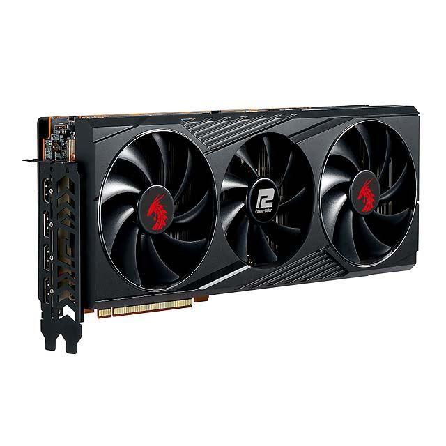PowerColor、「Radeon RX 6800 XT」を搭載する「Red Dragon」シリーズのビデオカード