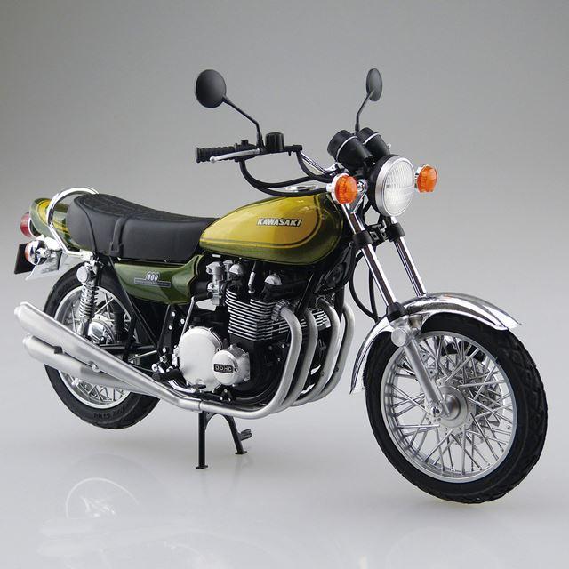 1/12 カワサキ Z1 900 SUPER4 '73 カスタムパーツ付き