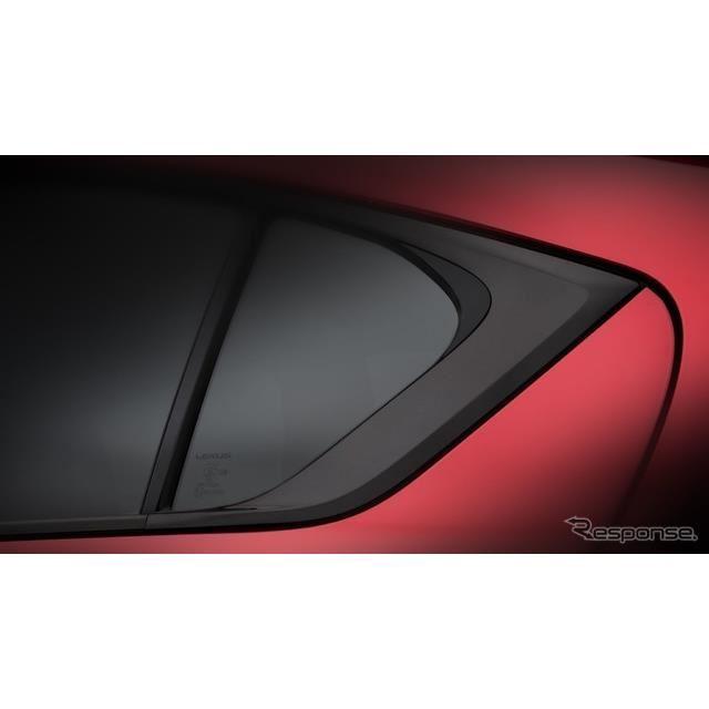 レクサスの新たな「F SPORT」モデルのティザーイメージ