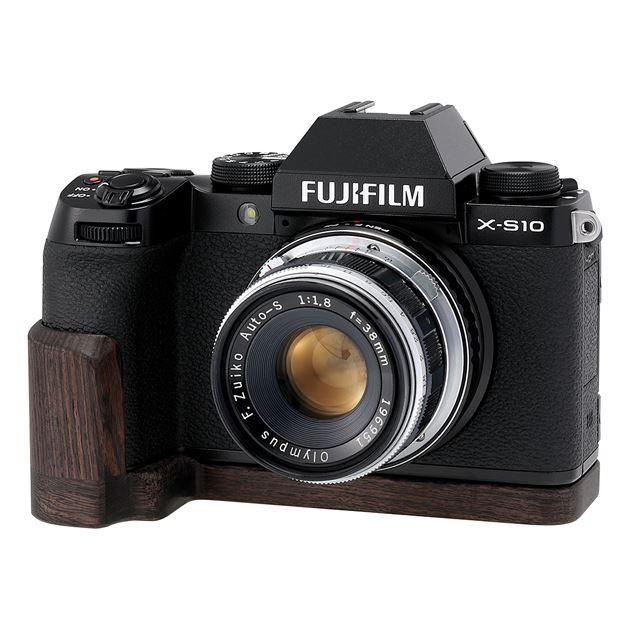 SHOTEN カメラウッドグリップ XS10-GP