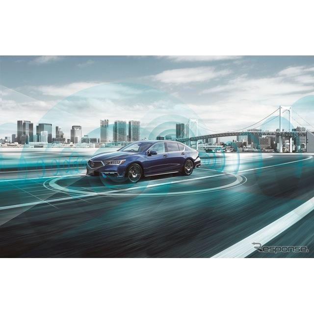 新型ホンダ・レジェンド:Honda SENSING Elite