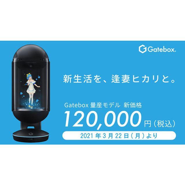 「キャラクター召喚装置 Gatebox量産モデル GTBX-100JP」