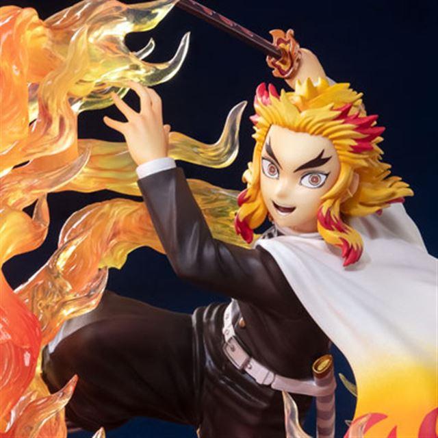 「鬼滅の刃」心を燃やせ! 炎の呼吸をまとった「煉獄杏寿郎」に視線集中