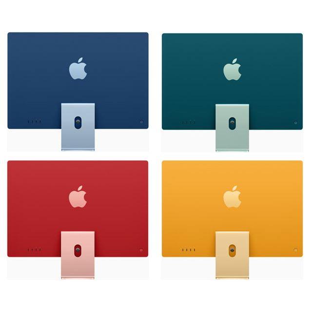 アップル、7色のカラバリ/M1チップ/24型4.5Kを採用した新型「iMac」