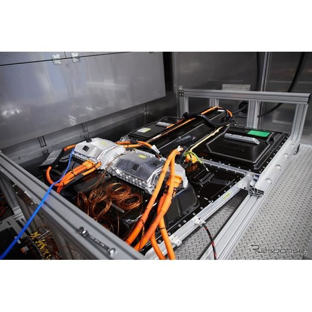 ボルボ XC40 リチャージ のバッテリー