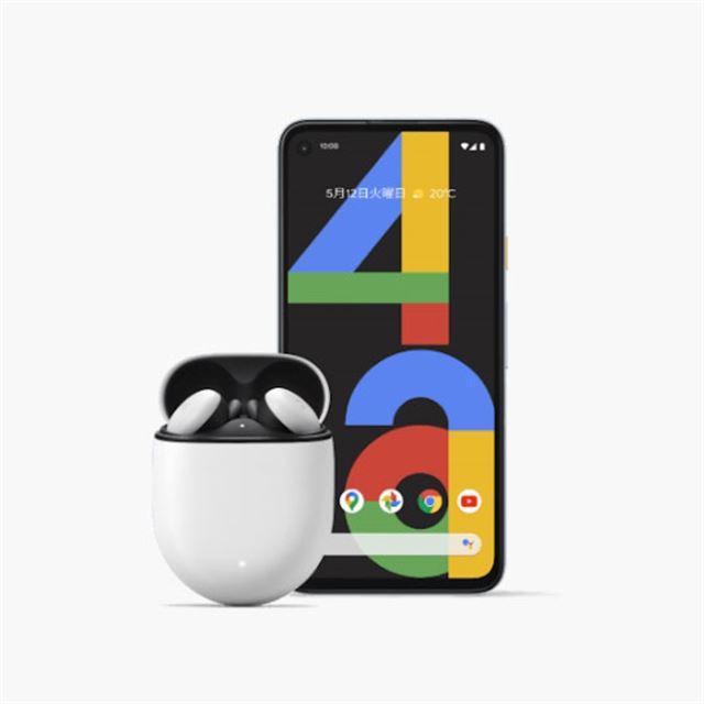 「Google Pixel 4a」と「Google Pixel Buds」