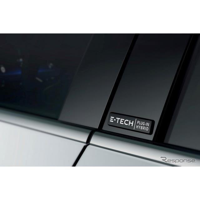 ルノー・メガーヌ・ハッチバック 改良新型のPHV「E-TECH」