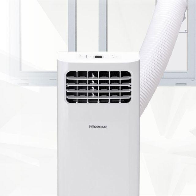 エアコンを設置できない部屋を快適に。パワフル冷風「スポットエアコン」に注目
