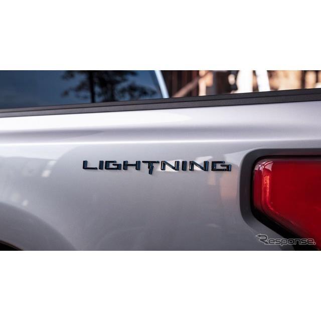 フォード F-150 ライトニング のティザーイメージ
