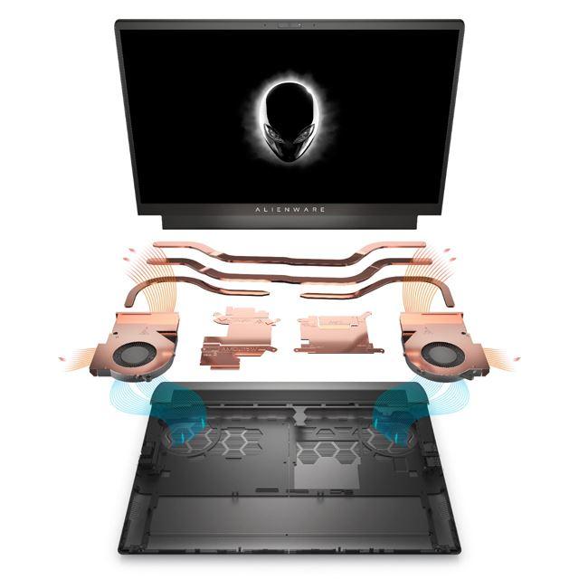 New Alienware m15 Ryzen Edition R5 ゲーミング ノートパソコン