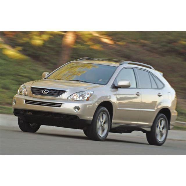 2代目「レクサスRX」(国内では2代目「トヨタ・ハリアー」として販売)。