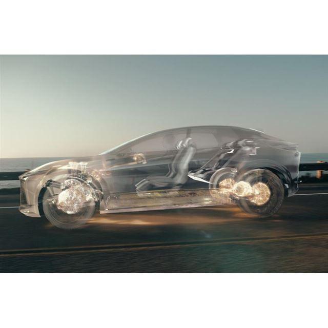新しい4輪駆動制御技術「DIRECT4」のイメージ。