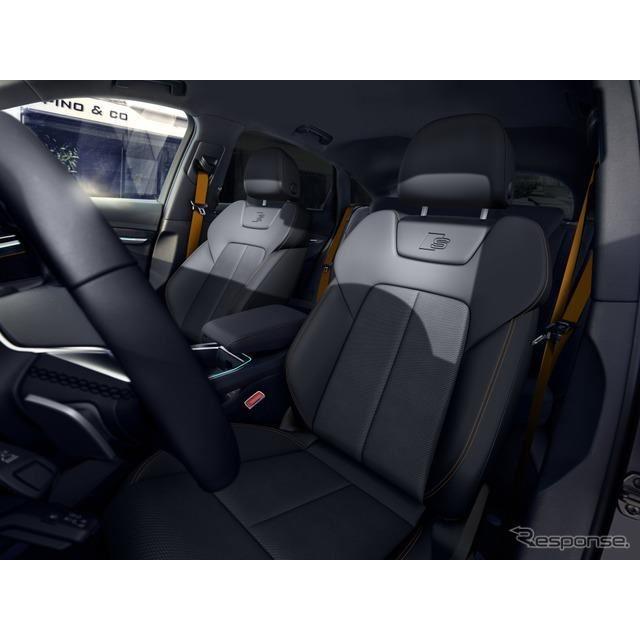 アウディ e-tron スポーツバック の2022年モデルの「Sラインブラックエディション」