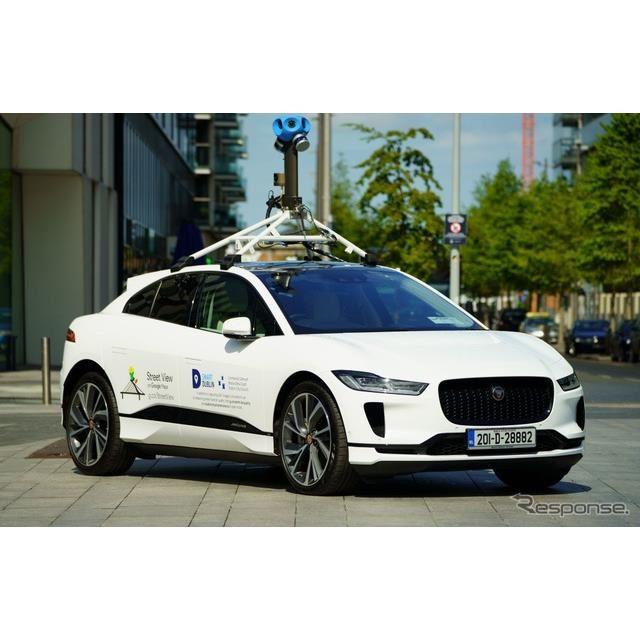 ジャガー I-PACE の「Google ストリートビュー」撮影車両