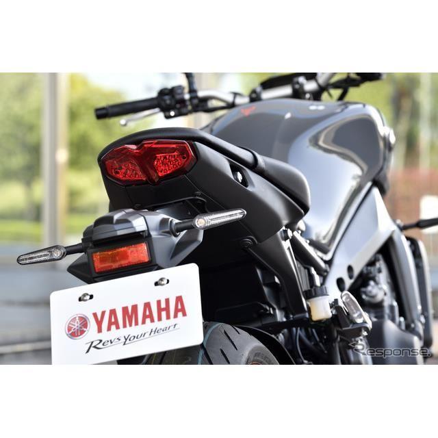 ヤマハ MT-09 新型(欧州仕様)