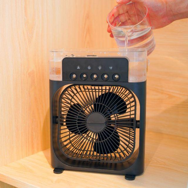 ほんとに涼しい冷風扇「ミストクーラーFIVE」