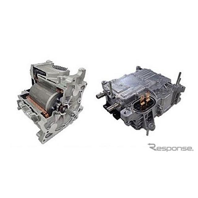 マツダ MX-30 EVに採用されたモーターとインバーター