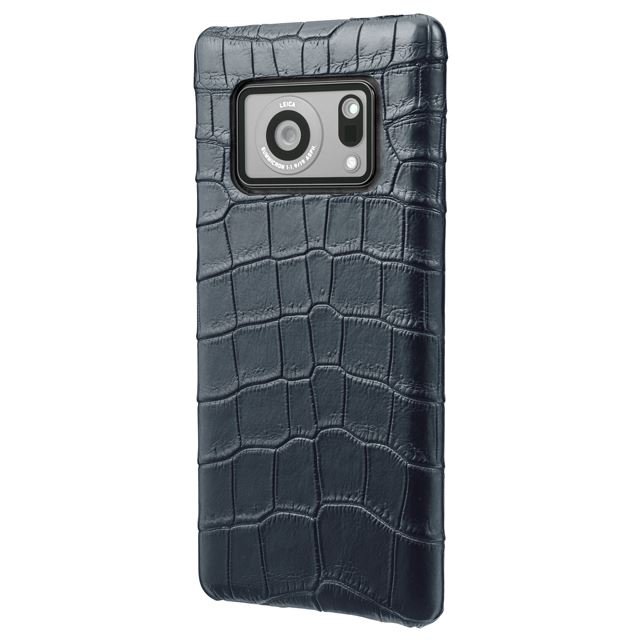 GRAMAS Meister Crocodile Leather Shell Case