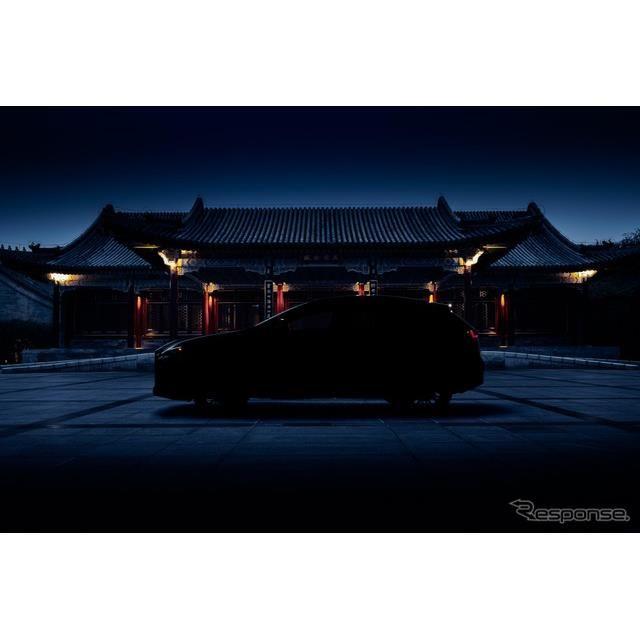 レクサス NX 新型のティザーイメージ