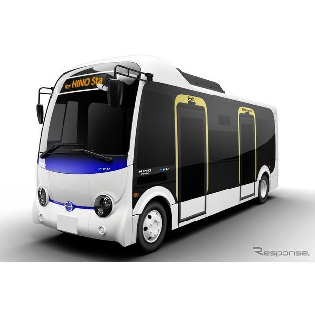 2022年春に市場投入する予定の小型電気バス、ポンチョZ EV