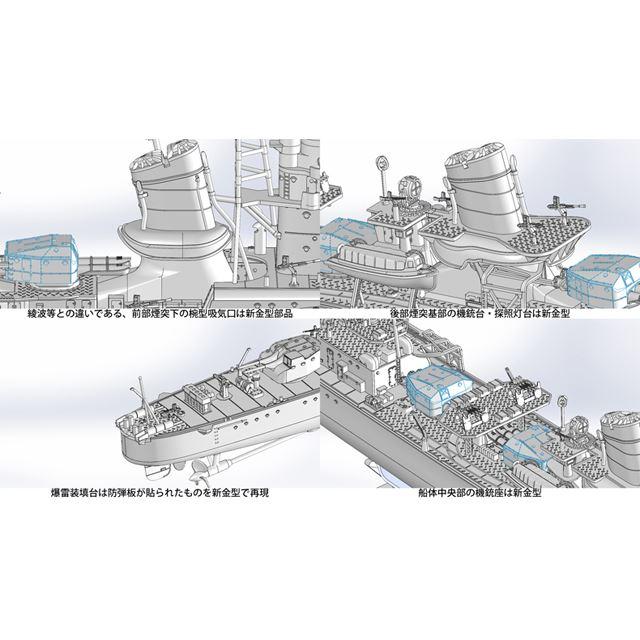 FW3 帝国海軍駆逐艦 潮