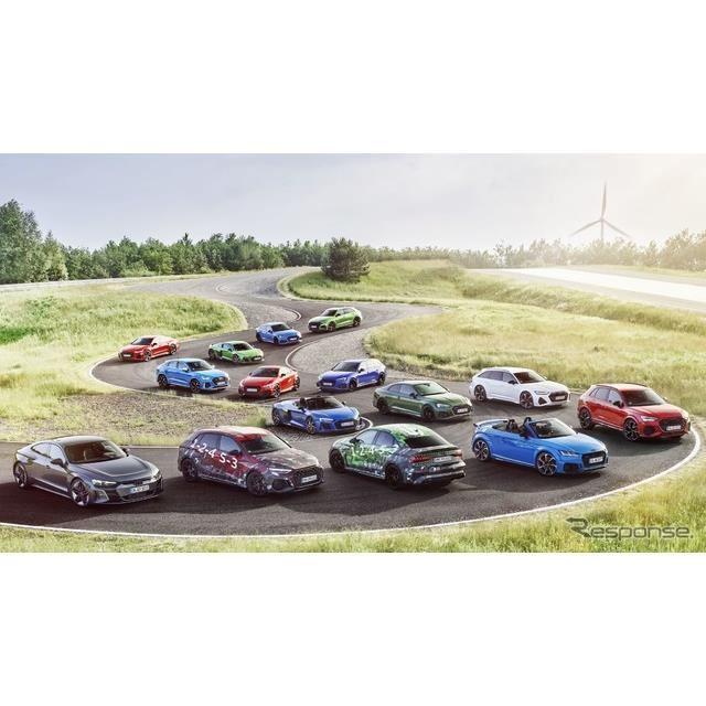アウディ「RSシリーズ」のラインナップ
