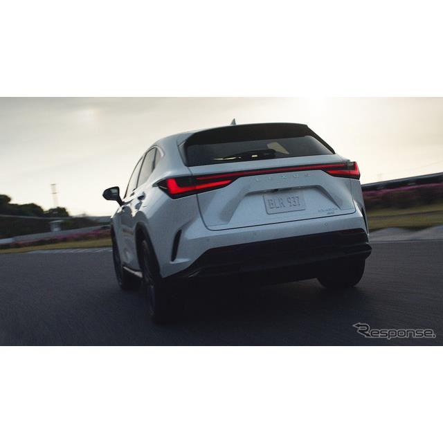 レクサスNX新型プロトタイプ