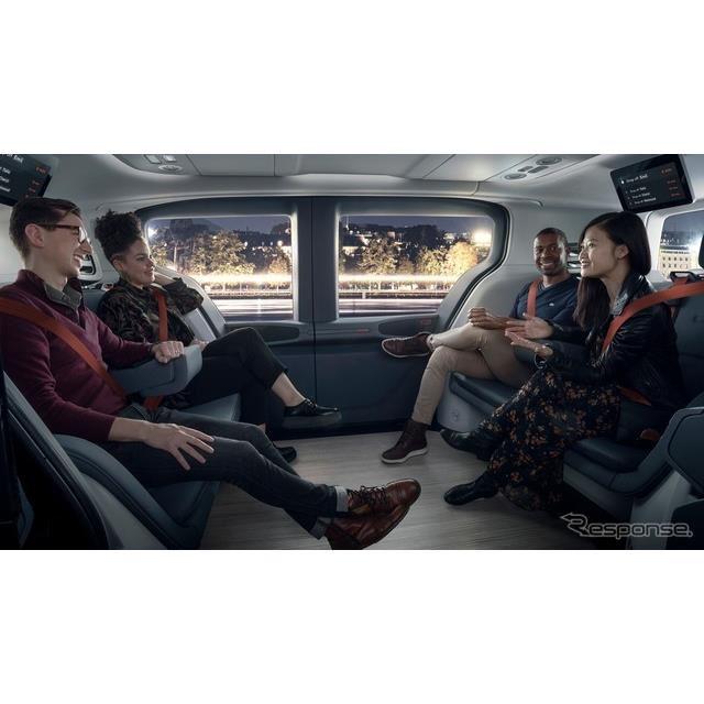 GMの自動運転車開発部門クルーズの自動運転車「クルーズ・オリジン」