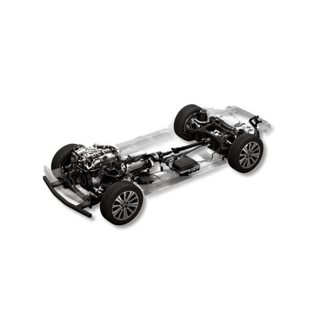 ラージ商品群の48Vマイルドハイブリッド採用ディーゼルエンジン搭載車。