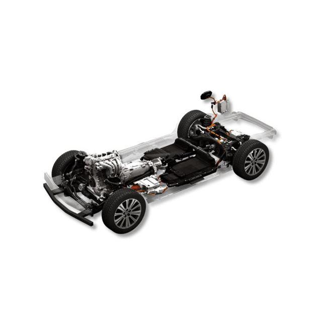 ラージ商品群のガソリンエンジンをベースとしたプラグインハイブリッド車。