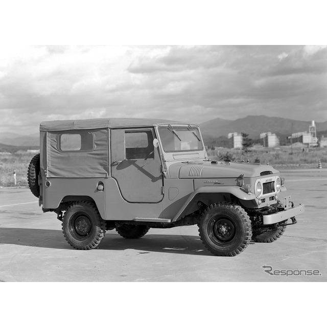 1961年:ランドクルーザー40系(ヘビーデューティ)