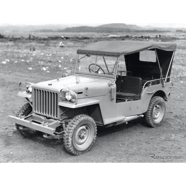 1951年:トヨタ・ジープBJ型警察予備隊向け(ヘビーデューティ)