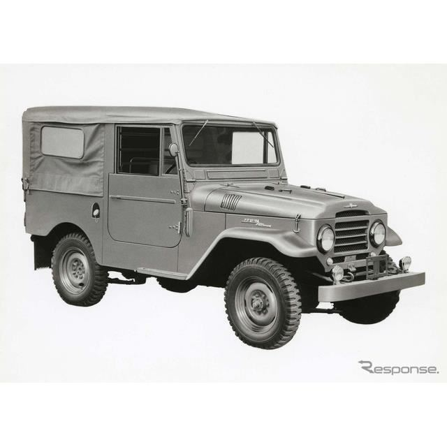 1955年:ランドクルーザー20系(ヘビーデューティ)