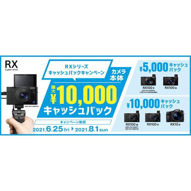 「RXシリーズ キャッシュバックキャンペーン」