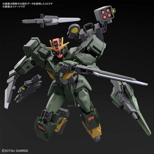 5位 バンダイ、射撃&斬撃武装が付属する「HG ガンダムダブルオーコマンドクアンタ」
