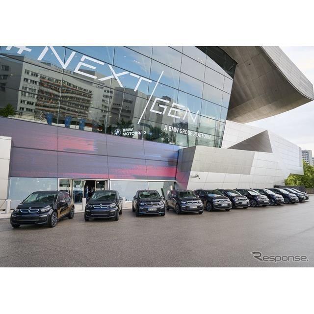 BMW i3 の双方向充電の研究プロジェクト車両